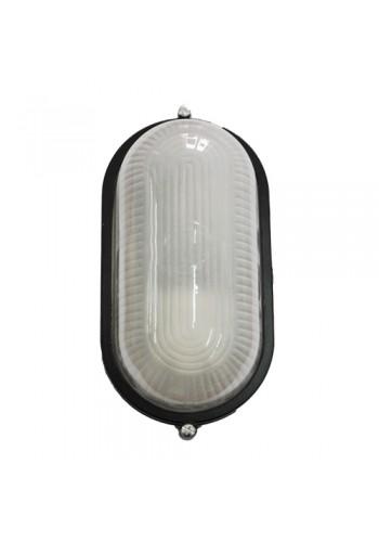 светильник настенный MAGNUM MIF 020 60W E27 черный IP 54 - (10042329) (10042329) Светильники для ЖКХ и промышленные - интернет - магазин Моя Лампа ™