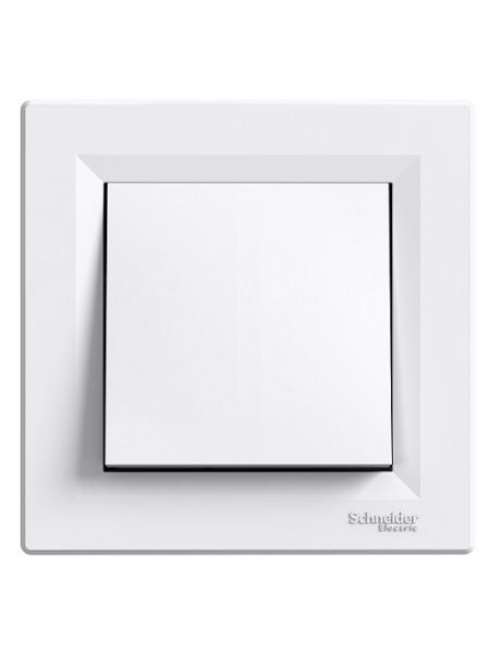 выкл SCHNEIDER ASFORA EPH0400121 перекл. 1кл. (сх.6) белый (EPH0400121) Розетки и выключатели - интернет - магазин Моя Лампа ™