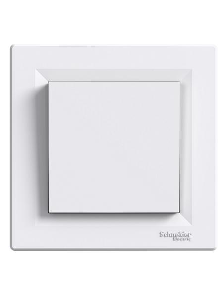 розетка SCHNEIDER ASFORA EPH5600121 заглушка біла (EPH5600121) Розетки і вимикачі - інтернет - магазині Моя Лампа ™