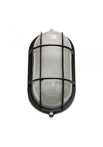 светильник настенный MAGNUM MIF 022 100W E27 черный IP 54 - (10042335) (10042335) Светильники для ЖКХ и промышленные - интернет - магазин Моя Лампа ™