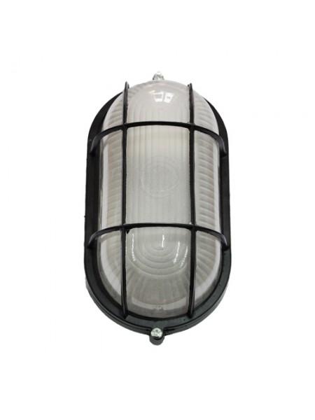 светильник настенный MAGNUM MIF 022 60W E27 черный IP 54 - (10042331) (10042331) Светильники для ЖКХ и промышленные - интернет - магазин Моя Лампа ™