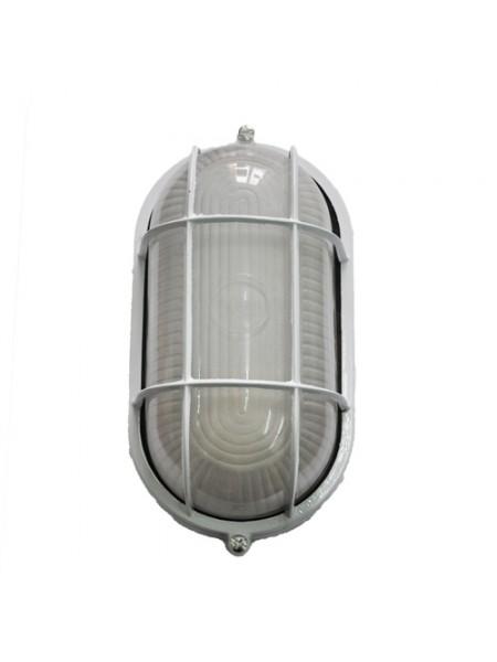 светильник настенный MAGNUM MIF 022 60W E27 белый IP 54 - (10042330) (10042330) Светильники для ЖКХ и промышленные - интернет - магазин Моя Лампа ™