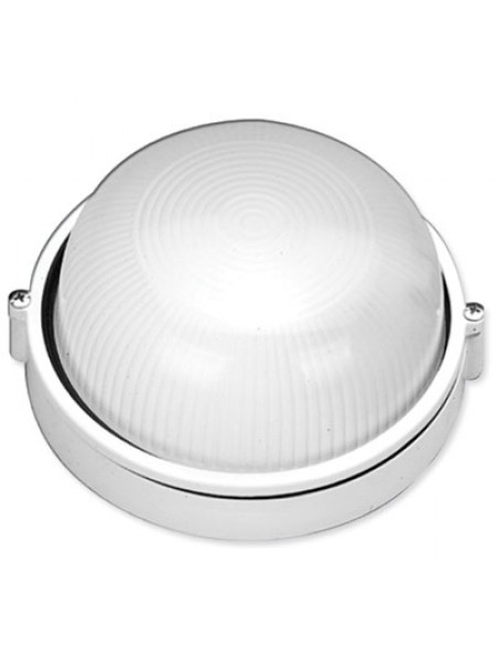 светильник настенный MAGNUM MIF 010 100W E27 белый IP 54 - (10042324) (10042324) Светильники для ЖКХ и промышленные - интернет - магазин Моя Лампа ™
