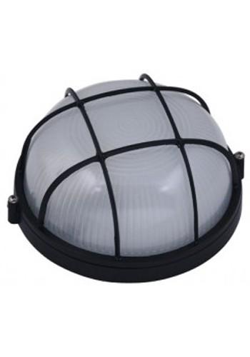 светильник настенный MAGNUM MIF 012 60W E27 черный IP 54 - (10042323) (10042323) Светильники для ЖКХ и промышленные - интернет - магазин Моя Лампа ™