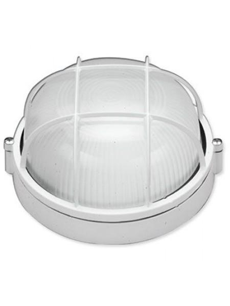 светильник настенный MAGNUM MIF 012 100W E27 белый IP 54 - (10042326) (10042326) Светильники для ЖКХ и промышленные - интернет - магазин Моя Лампа ™