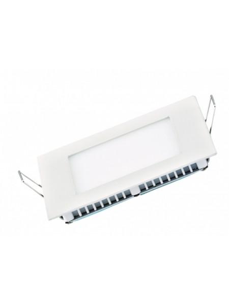 Светодиодная панель DELUX внутренная CFR LED 10  4100К 6 Вт 220В квадрат (120/100) 420 Лм - (90006812) (90006812) Светильники для торговых помещений и офисов - интернет - магазин Моя Лампа ™