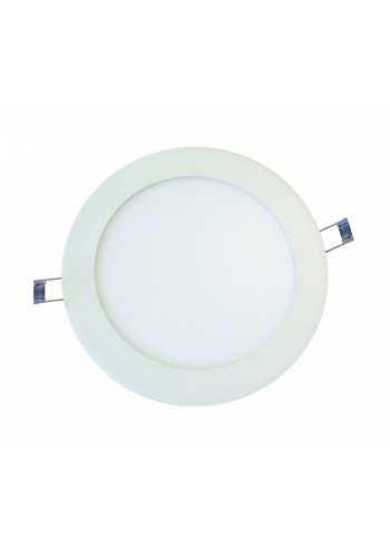 Светодиодная панель DELUX внутренная CFR LED 12 4100К 12 Вт 220В круг (172/160) 840 Лм - (90001549) (90001549) Светильники для торговых помещений и офисов - интернет - магазин Моя Лампа ™