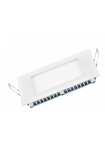 Светодиодная панель DELUX внутренная CFR LED 12 4100К 12 Вт 220В квадрат (172/172) 840 Лм - (90001550) (90001550) Светильники для торговых помещений и офисов - интернет - магазин Моя Лампа ™