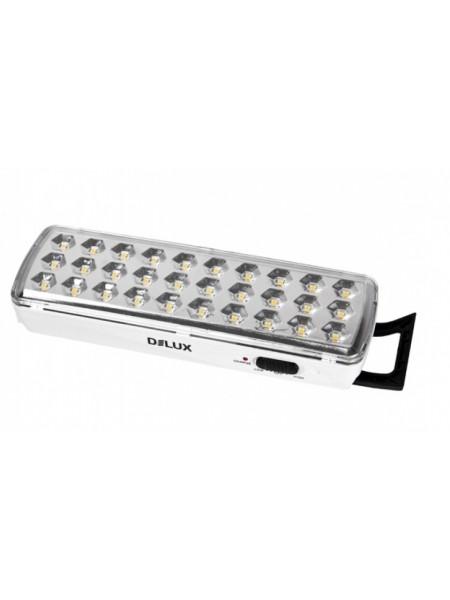 светильник светодиодный аварийный REL-501LED (3.7V1,2Ah) 30 LED 2 Вт 202x68x40 акумуляторный - (90008960) (90008960) Светильники аварийные - интернет - магазин Моя Лампа ™