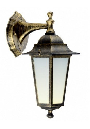 светильник садово-парковый PALACE A02 60 Вт Е27 черный-золото - (10103960) (10103960) Товары снятые с производства - интернет - магазин Моя Лампа ™