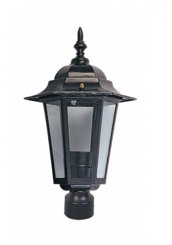 светильник садово-парковый PALACE A03 60 Вт Е27 чорный - (10008441) (10008441) Товары снятые с производства - интернет - магазин Моя Лампа ™