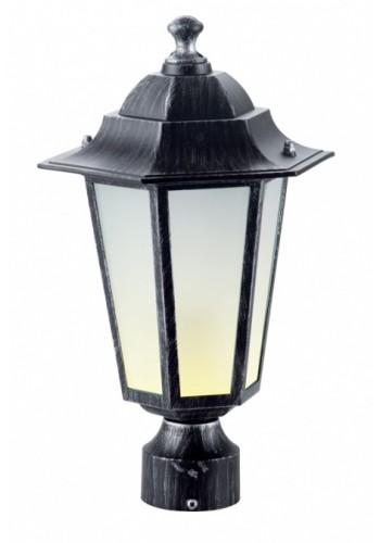 светильник садово-парковый PALACE A03 60 Вт Е27 черный-серебро - (10103966) (10103966) Товары снятые с производства - интернет - магазин Моя Лампа ™