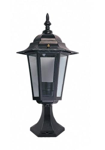 светильник садово-парковый PALACE A04 60 Вт Е27 чорный - (10008442) (10008442) Товары снятые с производства - интернет - магазин Моя Лампа ™