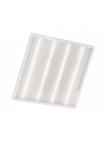 світильник світлодіодний офісний DELUX CFQ LED 45 36Вт 4000K 2500 Лм (595 * 595) призм - (90010226) (90010226) Світильники для торгових приміщень і офісів - інтернет - магазині Моя Лампа ™