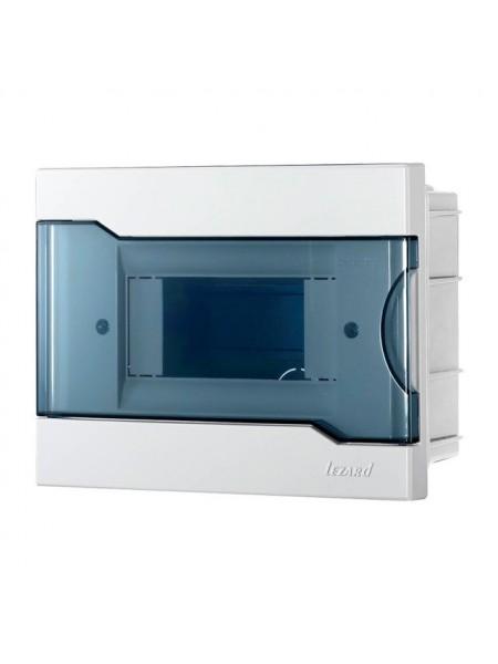 Бокс з прозорою кришкою ЩРВ-П-6 для внутрішньої установки 6-й модульних пристроїв IP40 190x148x92 - (730-1000-006) (730-1000-006) Бокси пластикові під автомати - інтернет - магазині Моя Лампа ™