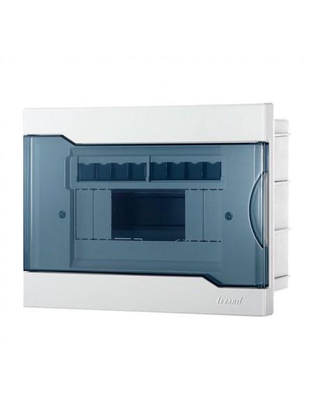 Бокс з прозорою кришкою ЩРВ-П-8 для внутрішньої установки 8-й модульних пристроїв IP40 236x182x92 - (730-1000-008) (730-1000-008) Бокси пластикові під автомати - інтернет - магазині Моя Лампа ™