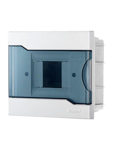 Бокс з прозорою кришкою ЩРВ-П-4 для внутрішньої установки 4-х модульних пристроїв IP40 155x148x92 - (730-1000-004) (730-1000-004) Бокси пластикові під автомати - інтернет - магазині Моя Лампа ™