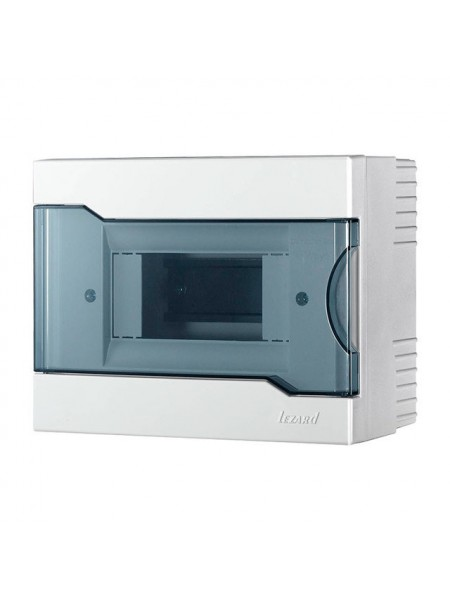 Бокс з прозорою кришкою ЩРН-П-6 для зовнішньої установки 6-й модульних пристроїв IP40 190x148x92 - (730-2000-006) (730-2000-006) Бокси пластикові під автомати - інтернет - магазині Моя Лампа ™