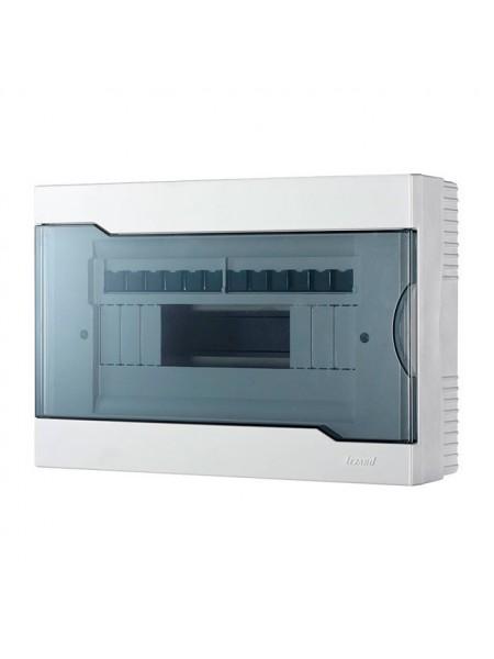 Бокс з прозорою кришкою ЩРН-П-12 для зовнішньої установки 12-і модульних пристроїв IP40 315x216x93 - (730-2000-012) (730-2000-012) Бокси пластикові під автомати - інтернет - магазині Моя Лампа ™