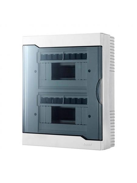 Бокс з прозорою кришкою ЩРН-П-16 для зовнішньої установки 16-і модульних пристроїв IP40 236x297x92 - (730-2000-016) (730-2000-016) Бокси пластикові під автомати - інтернет - магазині Моя Лампа ™