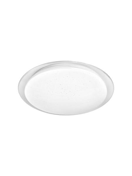 светильник DELUX LCS-002 Star 48W 3000/6000K+пульт (460/460/70) металл/поликарбонат - (90011623) (90011623) SMART Светильники светодиодные - интернет - магазин Моя Лампа ™