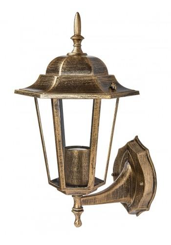 светильник садово-парковый DELUX PALACE A001 60W E27 черный-золото IP 44 - (90011332) (90011332) Садово-парковые светильники - интернет - магазин Моя Лампа ™