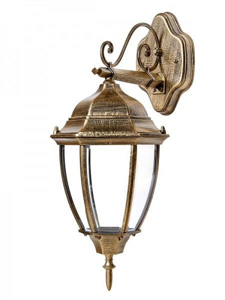 светильник садово-парковый DELUX PALACE A007 60W E27 черный-золото IP 44 - (90011354) (90011354) Садово-парковые светильники - интернет - магазин Моя Лампа ™