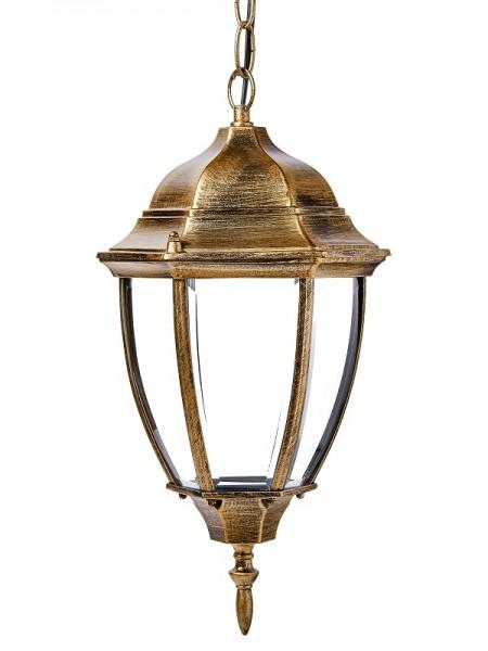 светильник садово-парковый DELUX PALACE A009 60W E27 черный-золото IP 44 - (90011357) (90011357) Садово-парковые светильники - интернет - магазин Моя Лампа ™