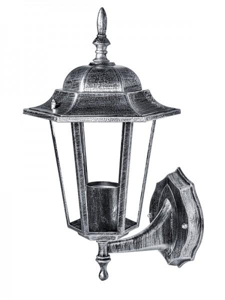 светильник садово-парковый DELUX PALACE A001 60W E27 черный-серебро IP 44 - (90011333) (90011333) Садово-парковые светильники - интернет - магазин Моя Лампа ™