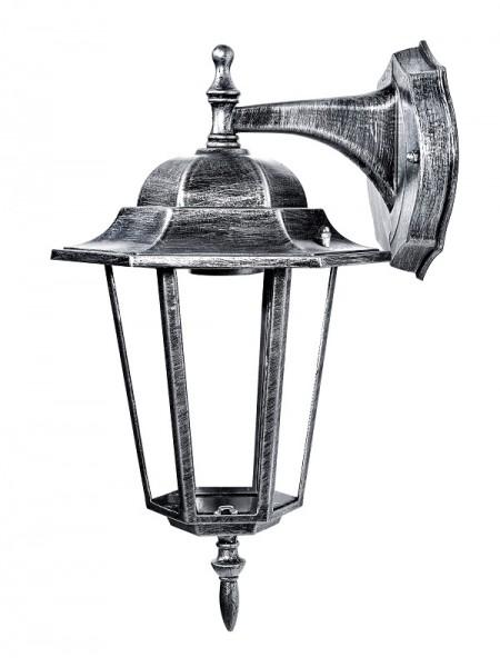 светильник садово-парковый DELUX PALACE A002 60W E27 черный-серебро IP 44 - (90011338) (90011338) Садово-парковые светильники - интернет - магазин Моя Лампа ™