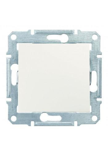 Одноклавишный переключатель 10 AX Sedna SDN0400123 слоновая кость (SDN0400123) Розетки и выключатели - интернет - магазин Моя Лампа ™