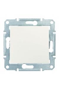 Одноклавишный переключатель 10 AX IP44 Sedna SDN0400523 слоновая кость (SDN0400523) Розетки и выключатели - интернет - магазин Моя Лампа ™