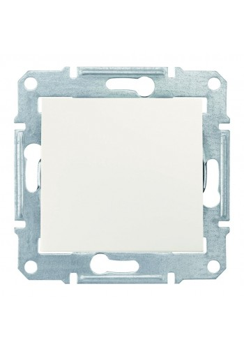 Двухполюсный одноклавишный выключатель 16 AX Sedna SDN0200223 слоновая кость (SDN0200223) Розетки и выключатели - интернет - магазин Моя Лампа ™