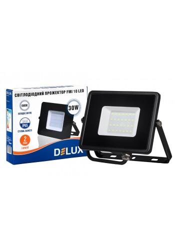 светодиодный прожектор  DELUX FMI 10 LED 30Вт 6500K IP65 - (90008736) (90008736) LED Прожекторы - интернет - магазин Моя Лампа ™
