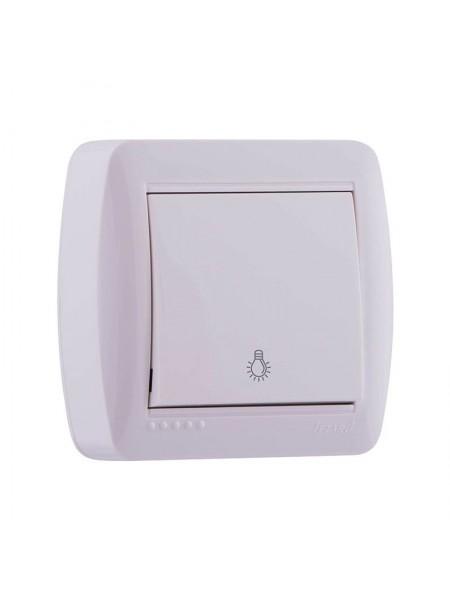 Кнопка звонка белый Lezard Demet 711-0200-103 (711-0200-103) Розетки и выключатели - интернет - магазин Моя Лампа ™