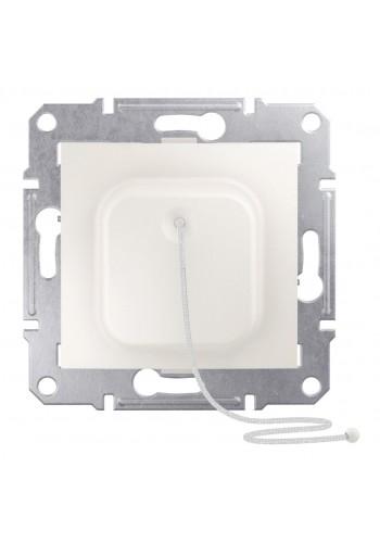 Кнопка со шнурком 10 A  Sedna SDN1200123 слоновая кость (SDN1200123) Розетки и выключатели - интернет - магазин Моя Лампа ™