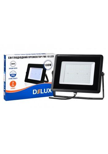 светодиодный прожектор  DELUX FMI 10 LED 100Вт 6500K IP65 - (90008739) (90008739) LED Прожекторы - интернет - магазин Моя Лампа ™