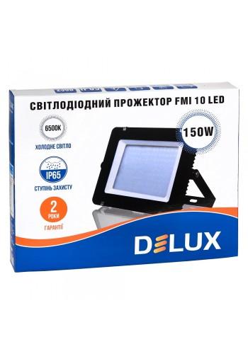светодиодный прожектор  DELUX FMI 10 LED 150Вт 6500K IP65 - (90008740) (90008740) LED Прожекторы - интернет - магазин Моя Лампа ™
