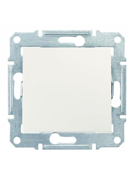 Одноклавишный кнопочный выключатель 10 AX  Sedna SDN0700123 слоновая кость (SDN0700123) Розетки и выключатели - интернет - магазин Моя Лампа ™