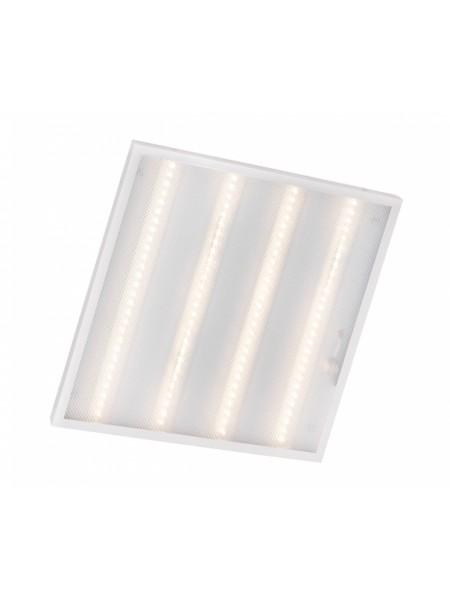 світильник світлодіодний офісний DELUX CFQ LED 40 36Вт PL01 4000K (595 * 595) призм - (90006752) (90006752) Світильники для торгових приміщень і офісів - інтернет - магазині Моя Лампа ™
