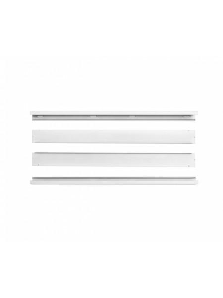 DELUX Рамка накладного монтажу до LED панелей (біла) - (90011637) (90011637) Світильники для торгових приміщень і офісів - інтернет - магазині Моя Лампа ™