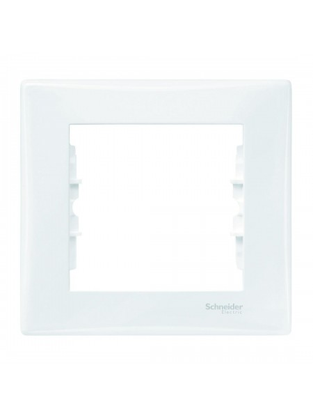 Рамка 1 постовая  Sedna SDN5800121 белый (SDN5800121) Розетки и выключатели - интернет - магазин Моя Лампа ™