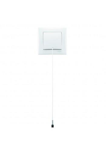 Кнопка со шнурком 10 A  Sedna SDN1200121 белый (SDN1200121) Розетки и выключатели - интернет - магазин Моя Лампа ™