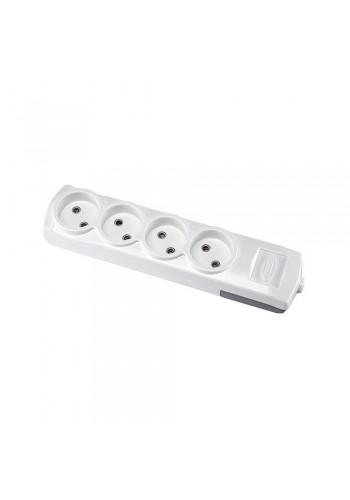 Колодка Violux 4-на без заземления (910160) Удлинители - интернет - магазин Моя Лампа ™