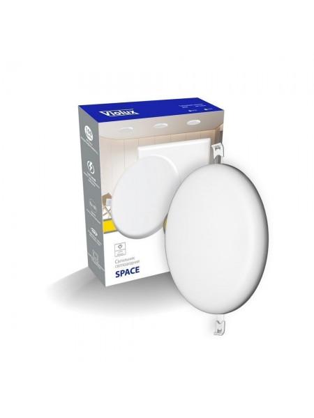 Світильник LED даунлайт Violux SPACE 6W 4200K круг IP20 (100100) Світильники для торгових приміщень і офісів - інтернет - магазині Моя Лампа ™