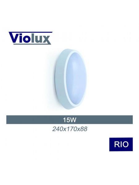 Світильник LED Violux НББ RIO 15W 5000K IP64 (243331) Світильники для ЖКГ і промислові - інтернет - магазині Моя Лампа ™