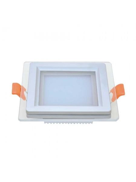 Светильник LED даунлайт Violux LOTOS 6W 5000K квадрат IP20