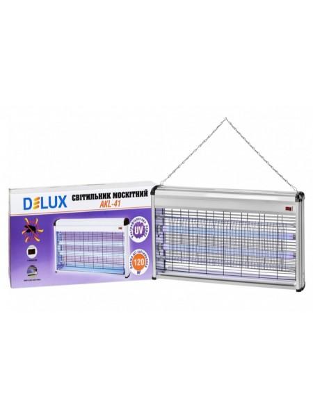 DELUX AKL-41 2*20Вт ловушка для насекомых 120 м2 IP 20 - (90011590) (90011590) Уничтожители насекомых - интернет - магазин Моя Лампа ™