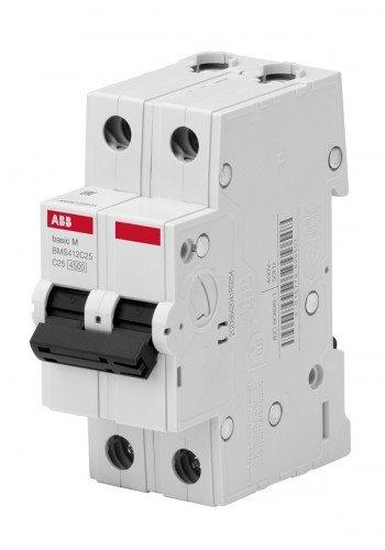 Автоматический выключатель BASIC M, 2Р, 32А, Х-КА 'С' BMS412C32 (2CDS642041R0324) Автоматические выключатели - интернет - магазин Моя Лампа ™