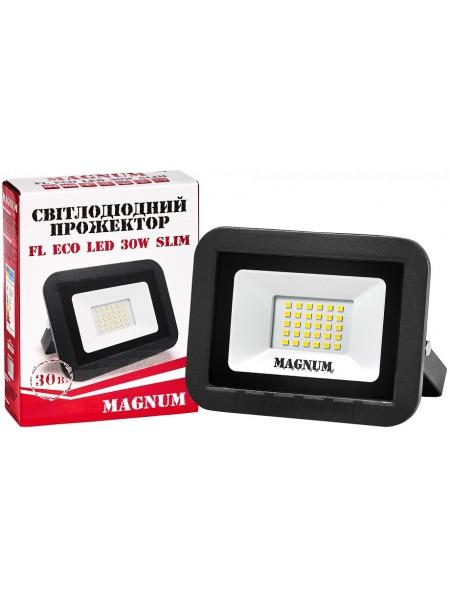 светодиодный прожектор MAGNUM FL ECO LED 30Вт slim_6500К_IP65 - (90011660) (90011660) LED Прожекторы - интернет - магазин Моя Лампа ™